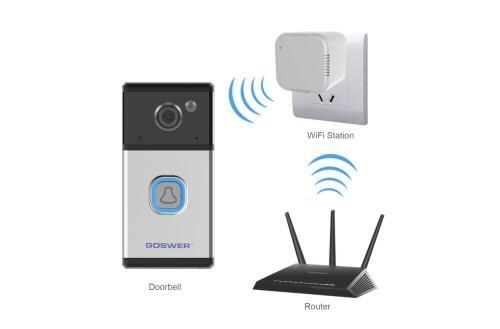 5100ZJ Doorbell Camera Intelligent Security Battery Doorbell